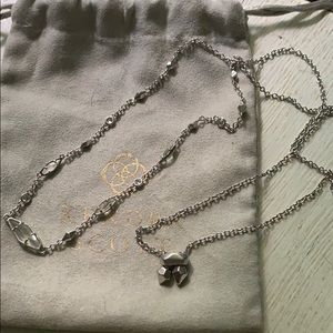 Kendra Scott Debra necklace Im rhodium